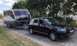 VW Touareg Caravan Boot